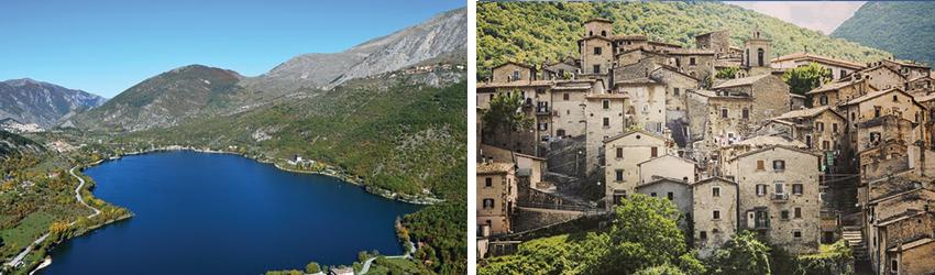 Bellezze e gusto nel Parco Nazionale d'Abruzzo